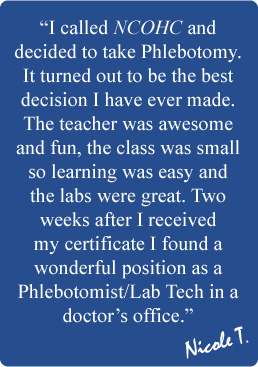 Phlebotomy can you minor in 2 subjects in college